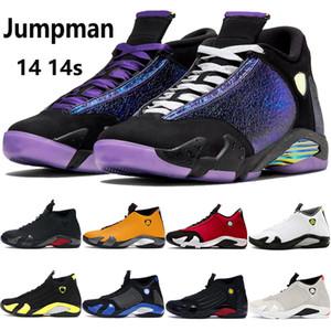 14 14s zapatillas de baloncesto para hombre Doernbecher negro multi color toe gym red turbo indiglo hyper royal hombres zapatillas de deporte al aire libre EE. UU. 7-13