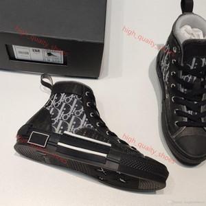 Dior B23 Shoes 포장에 신발 사이즈 35-45 Xshfbcl 2020 년 새로운 한정판 사용자 정의 인쇄 캔버스 신발, 높고 낮은 신발 다양한 패션,