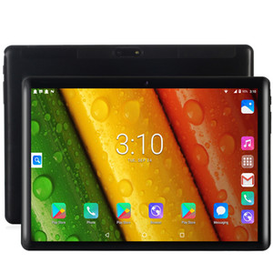 2020 Newest Tablet Pc 10.1 inch Android 7.0 Google Play 3G Phone Call Tablets WiFi Bluetooth GPS 2.5D Tempered Glass 10 inch Tablet