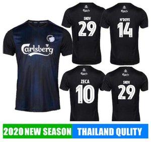 2019 Copenhague fútbol Jersey 19/20 Inicio Negro # 10 ZECA fútbol camisa # 14 # 29 N'Doye uniformes de fútbol SKOV personalizadas Calcio camisas
