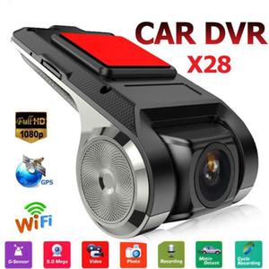 Auto-DVR 1080P FHD Objektiv WiFi ADAS eingebaute G-Sensor Videorekorder Auto-Schlag-Kamera-Auto-Elektronik Zubehör