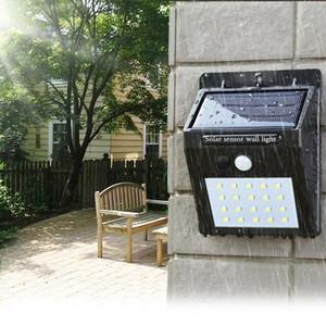 Solar Power LED Solar luz Ao Ar Livre Da Parede LEVOU lâmpada Solar Com Sensor de Movimento PIR Night Security Bulb Street Quint Path Jardim lâmpada ZZA265