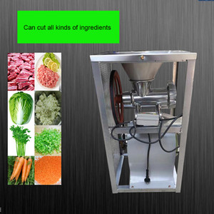 Electric meat grinder Fission minced chicken shelf Broken bones machine Grind pepper Enema 2.2 KW motor Single belt