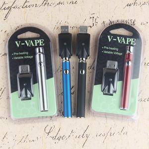 أطقم نفطة بطارية Vertex Co2 VV سخن VV LO co2 مبخر الزيت O Pen 510 Vape التسخين المتغير الجهد 350mah ce3 خرطوشة