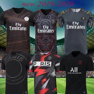 TOP 2019 Maglia da calcio Parigi 2020 mbappe VERRATTI CAVANI Maglia da calcio PSG survêtement maillot de foot pre partita Allenamento