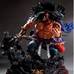 2020 New Anime One Piece GK Kaido Figurine Fighting Ver Toys 19cm