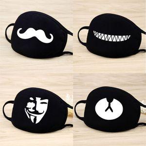 20 Masques style unisexe bouche Bangtan Boys nouveau visage moufles respirateurs coton Hommes Femmes Masques Party Mode mignon de masque Panda