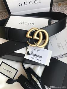 Larghezza 4,0 centimetri Designers Cinture Uomo Cinture cintura di pelle le cinghie di cuoio di affari di modo cinghia delle donne di lusso con trasporto libero scatola