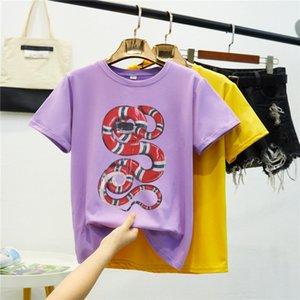 Originalidade Up Leisure Time Hundred Xia Collar manga curta Feminino T T-shirt Jacket LoversA2PYiwalkers05 -shirt