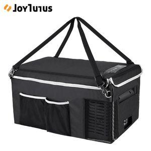 Mini Buzdolabı için Joytutus 18L Araç Buzdolabı Saklama Torbası 25L Taşınabilir Taşıma Çantası Damla geçirmez Soğutma tutun