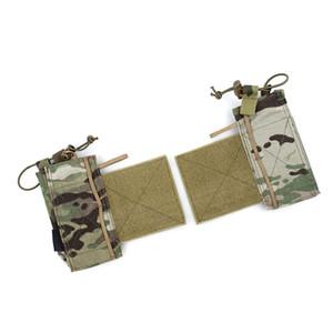Nueva táctica TMC Multicamara SS Radio Side sistema de la bolsa de adhesión bolsa de chaleco táctico del envío