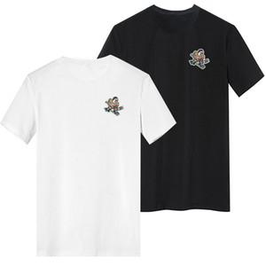 Mighty Ducks T-Shirt 2020 Sommer-Ärmel Shirt Farbe Schwarz Weiß Größe S - 3XL Blank-T-Shirt