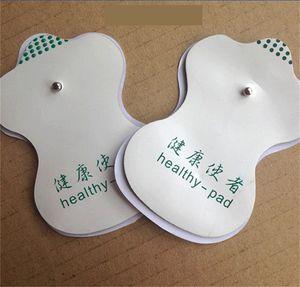 Massage électrode antistress Acupuncture Pad Des dizaines de Massage numérique thérapie machine EMS Pads Massager Correctifs Vibrator