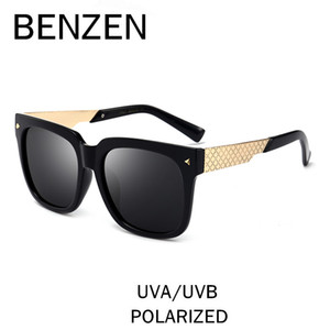 wholesale Polarized Sunglasses Women Vintage Female Sun Glasses Men UV Ladies Driving Glasses Shade With Original Case 6396