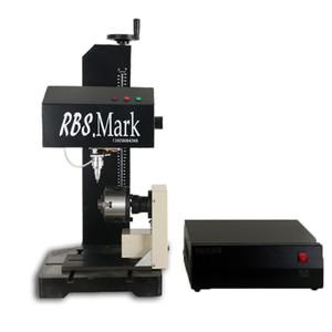 산업용 공압 마킹 기계 금속 프린터 스테인레스 스틸 알루미늄 명판 커터 배치 번호 축 회전