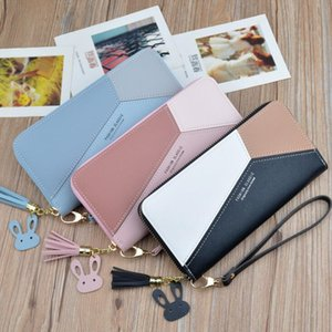 Factory outlet brand women hand bag multi-card printed leather purse fashion Butterfly buckle coin purse personality diamond long wallet