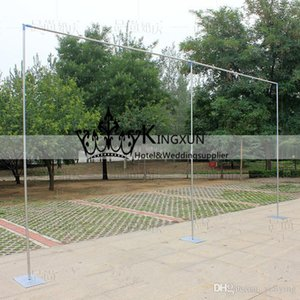 Soporte 3M * 3M boda cortinas Tubería / marco de la decoración de la boda de tuberías para la cortina / Stainess de acero de la boda del soporte Telón de fondo
