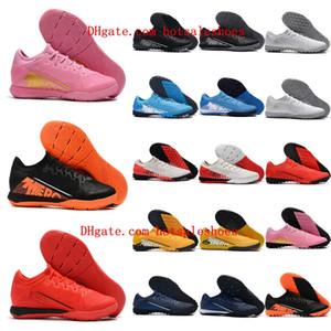 2020 en kaliteli futbol ayakkabıları Mercurial Vp 13 Pro TF IC kapalı CR7 futbol krampon Neymar çim futbol ayakkabıları scarpe da calcio mens