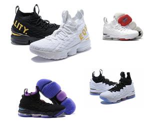 2019 nuova qualità superiore Ashes fantasma lebron 15 pattini di pallacanestro Lebrons scarpe da corsa casuali delle scarpe da tennis 15s Mens James sportive scarpe nuove