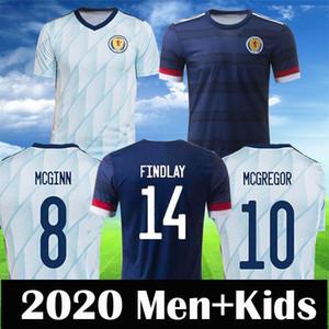 Schottland 2020 Fußballjerseys Scottish ROBERTSON FRASER NAISMITH Fußball-Hemd MCGREGOR CHRISTIE FORREST McGinn Herren Kinder Kit Uniform