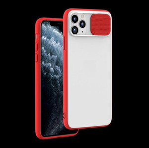 Hybrid case for iPhone 11 iPhone pro iPhone pro max camera protective design sliding cover frost PC back TPU bumper various models available