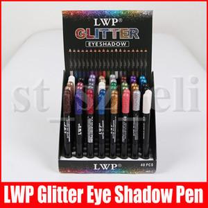 24 couleurs Waterproof Eyeliner Crayons Glitter fard à paupières Eyeliner Maquillage pour les lèvres Liner Set Crayon Eyeliner Ombre à paupières Pen étanche
