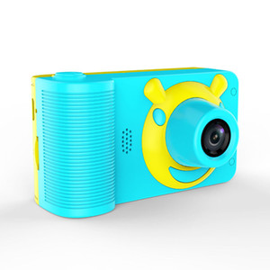الأطفال كاميرا مصغرة كاميرا رقمية للأطفال لطيف الكرتون كاميرا 800 ميجا بكسل طفل لعبة أطفال هدية عيد ميلاد 2 بوصة وشاشة الكاميرا