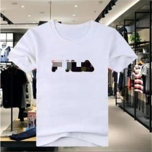 A3 2020 CCotton short sleeve T-shirt youth crew neck loose fit fashion versatile printed men's sports short sleeve top