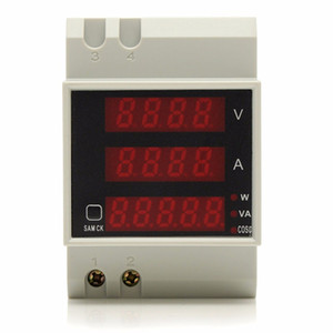 Freeshipping D52-2048 Multi-Functional Digital-Display Meter Voltmeter Ammeter Test instrument New Arrival High Quality