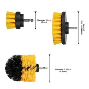 Sticky Plate Cleaning brush Supplies Sponges Detailing 6pcs Attachment