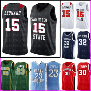 Kawhi 15 Leonard San Diego Staat Aztecs College Jersey NCAA Mens Stephen 30 Curry Basketball Kevin 35 Durant 23 Trikots 7887787887877