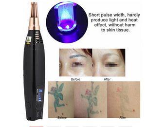 Mejorado láser láser Picosegundo Pluma Azul II Eliminación de la peca nueva tatuaje Mole punto oscuro pigmento ceja láser acné Tratamiento Máquina