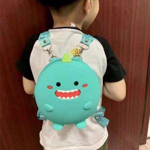 Mini Backpack Kids Soft Silicone Shoulder Bag For Children Girls Boys Multi-Function Small Bagpack Female Ladies School Backpack Y200706