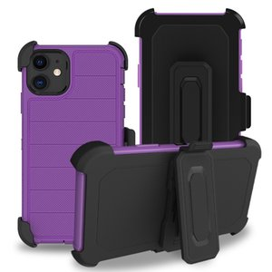 3 em 1 Triple Tampa Defender Telefone Case for LG Stylo 5 4 Aristo 3 K30 2019 Aristo 4 Plus Alcatel 3V 2019 Coolpad Legado Clipe de Cinto Holster