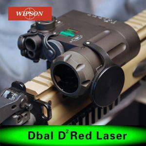 Airsoft фонарик ИК лазерный светодиодный фонарик DBAL-EMKII ж / Многофункциональные Тактические ИК осветителя DBAL-D2 Футляр для аккумуляторов