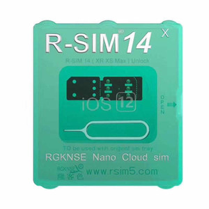 2019 новейшая разблокировка iccid карты rsim14 для iphone8 7 6 iphone xs max xr x iOS 12.x-7.x 4G разблокировка r-sim 14