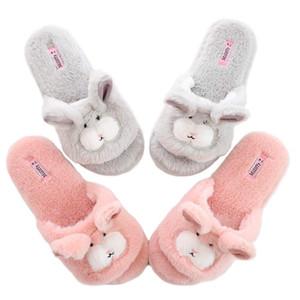 Millffy aperte Pantofole le dita dei piedi per le donne | Womens pantofole cute | rosa fuzzy Cane pantofole | infradito Sale di casa pantofole