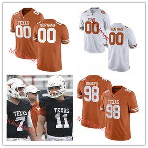 Texas Longhorns Football Bobby Layne Michael Dickson Tommy Nobis Brian Robison Phil Dawson Brian Orakpo Derrick Johnson Malcom Brown Jersey
