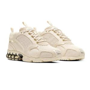 Designer Shoes Stussy Zoom Spiridon Caged 2 Zapatos Triple Bianco Nero Rosso Beige grigio metallizzato argento delle donne degli uomini delle scarpe da tennis di sport Chaussures