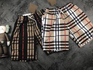 NUOVO Bb marca di lusso di marca Mens Shorts Pantaloni sportivi Uomini estate mette le donne in pantaloni a strisce spiaggia pantaloni Mens Shorts Dimensione M-XXL.