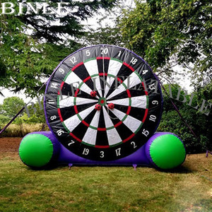 China supply crazy giant Soccer football kick inflatable dart board for outdoor dartboard target game