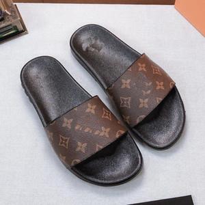 zapatos de mujer / hombre deslizadores de las sandalias de los deslizadores de alta calidad deslizadores de las sandalias planas ocasionales Formadores Slide Eu: 35-45 Con la caja 03