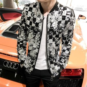 Streetwear Night Hairstyle Division Jacket Fashion Sociology Loose Coat Man Chaqueta Hombre Sunscreen Clothes 2019 Summer