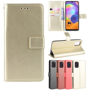 BY Flip Wallet PU Leather Case For Samsung A51 A71 5G A81 A91 M11 M21 M31 A01 A81 A91 A21 A41 A11 A31 A21S A70E XCover Pro
