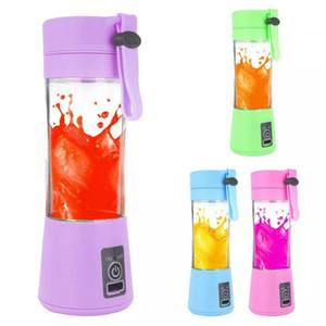 USB portátil eléctrico Juicer de la fruta de mano jugo de vegetales fabricante de jugo Blender recargable Copa con la carga de 12pcs cable CCA11920