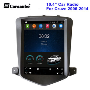 10.4inch Car DVD Radio Android 9.0 for Chevrolet Cruze 2006-2014 Multimedia Player GPS Navigation Vertical Screen No Dvd