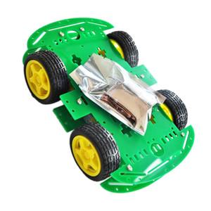 4WD-Roboter Smart Car für Arduino DIY Learning Kit mit Tutorial Android WiFi IR-Module und Line-Tracking-Ultraschallsensoren Science Fair