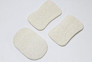 Lufa natural del plato pote del cepillo de lufa paño de limpieza para la cocina lufa Pad