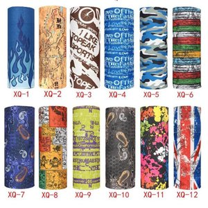 Écharpe extérieur 248 couleurs Promotion du vélo multifonctions sans couture Bandana Scarfs magiques Femmes Hommes Hot bande cheveux écharpe 1200pcs IIA97