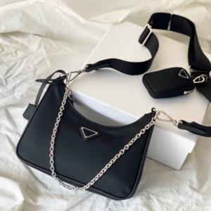 Designer Luxus Umhängetasche Qualitätshandtasche Hobo Vintage-Mode gutes Spiel Damentaschen Nylon Reedition 2005 einzelne Schulter Spanne